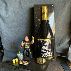 Chris Jericho Ringside Exclusive Aew Little Bit Of The Bubbly Figure for Sale in Whittier,  CA