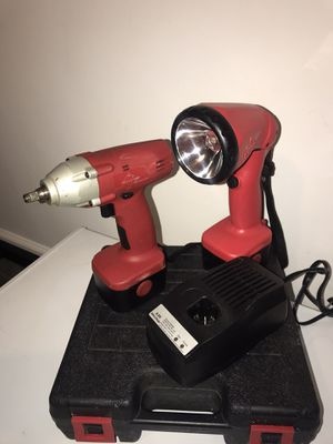 Impact wrench with a flashlight for Sale in Nashville, TN