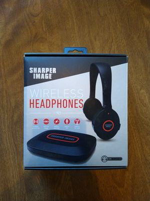 Sharper image wireless headphones for Sale in Richardson, TX