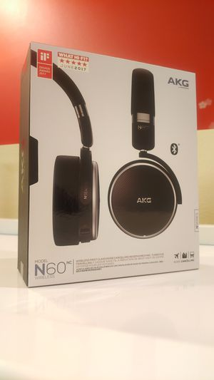 AKG N60NC: Noise Cancelling Wireless Bluetooth Headphones for Sale in Des Moines, WA