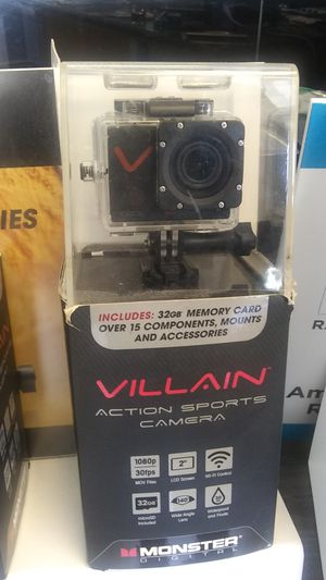 1080p action cam by Monster for Sale in Sun City Center, FL