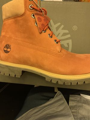 Premium Timberlands - Pizza Edition for Sale in Lewis Center, OH