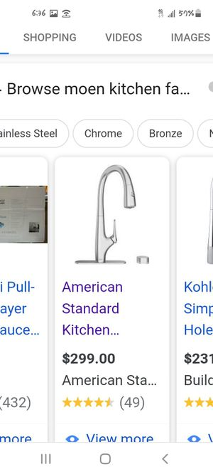 Moen faucet brand new in box for Sale in Arvada, CO