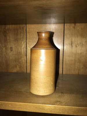 Antique ink bottle of J. Bourne & Son of Denby Pottery (London, 1800s) for Sale in Tempe, AZ