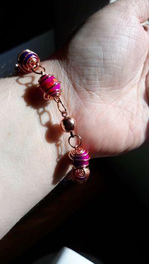 Czech Bead Wire Bracelet for Sale in Phoenix, AZ
