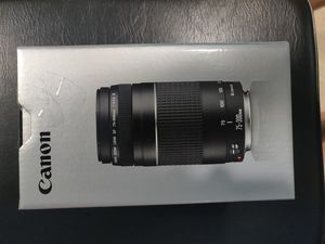 Canon EF 75-300MM for Sale in Jurupa Valley, CA