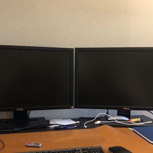 """3 X LCD Dell 27"""" Monitor Good Condition for Sale in Fairfax, VA"""
