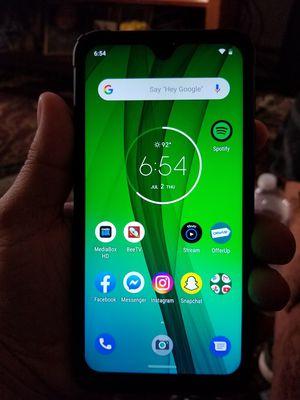 Motorola G7 Factory Unlocked Brand New for Sale in Fresno, CA