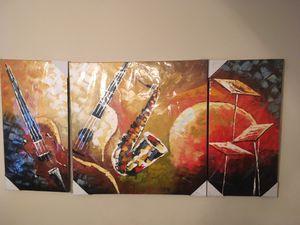 Three piece canvas art for Sale in Murfreesboro, TN