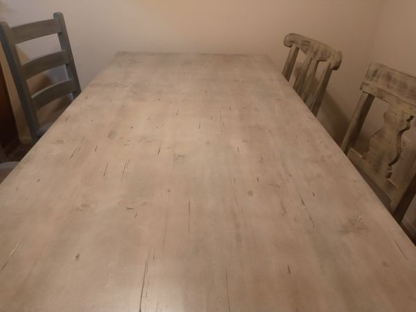 Rustic Dining Table 8ft