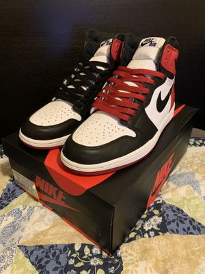 Air Jordan 1 black toe for Sale in Seattle, WA