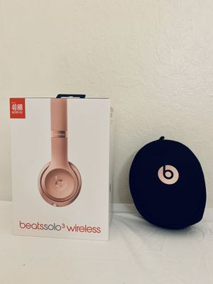 Beats solo 3 wireless rose gold (like new) for Sale in Berkeley, CA