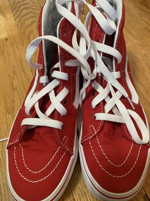 Women's red vans for Sale in Hartford, CT