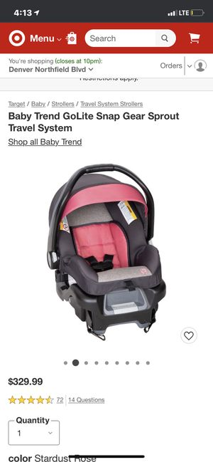 Baby stroller and car seat for Sale in Fountain, CO