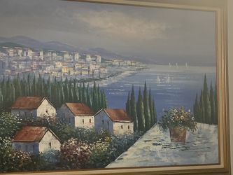 Antique Painting With Gold Frame for Sale in Kennesaw,  GA