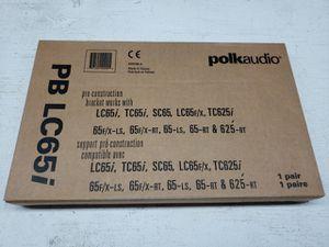 Polk Audio PB LC65i Pre-Construction Speaker Brackets (Pair) for Sale in Stevenson Ranch, CA