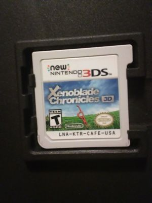 """Pre-owned Nintendo *3DS* """"Xenoblade chronicles"""" game for Sale in Jacksonville, FL"""