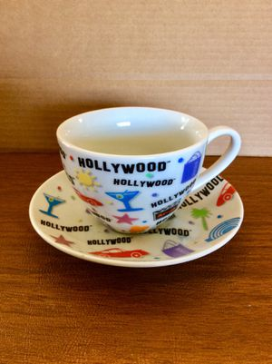 Hollywood collectors cup and saucer for Sale in Whittier, CA