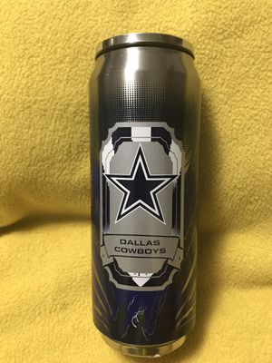 NFL Dallas Cowboys Double Wall Stainless Steel Thermocan 16 Ounce. for Sale in Sioux Falls, SD