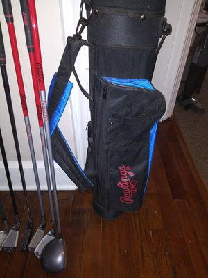 Junior size clubs (mostly Rawlings) for Sale in Lynchburg, VA