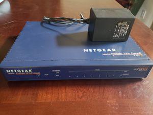 Netgear fvs318 VPN ethernet switch for Sale in Houston, TX