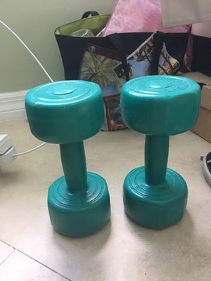 5 pound weights for Sale in Miami, FL