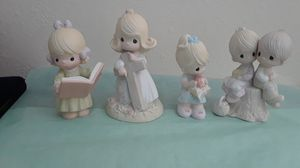 Precious Moments Enesco lot of 4 figurines for Sale in Tampa, FL