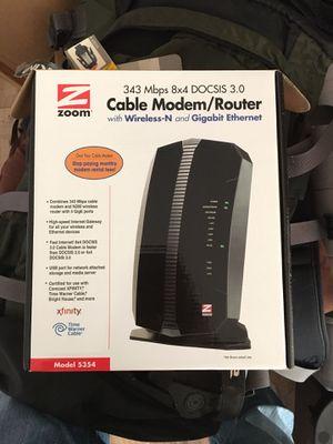 Zoom Gigabit Internet Cable Modem/Router for Sale in Austin, TX
