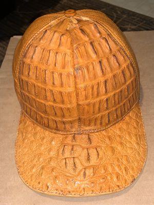 Ostrich/ crocodile baseball cap for Sale in Stockton, CA