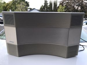 Bose acoustic wave music system platinum white for Sale in Benicia, CA