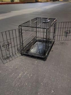 2-Door Folding Dog Crate for Sale in Tempe,  AZ