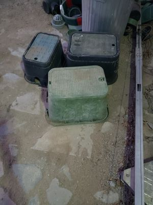Water boxes, misc landscape parts and sprinklers $3-$20 each for Sale in Wildomar, CA