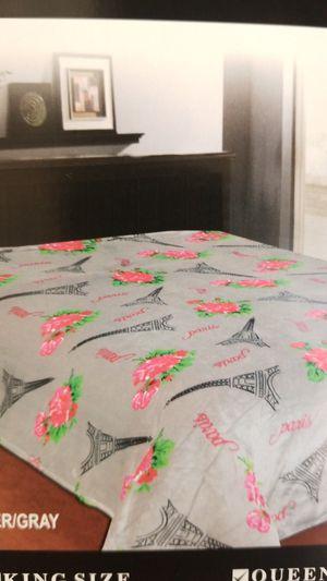 Paris Design Flannel Throw Blanket for Sale in Los Angeles, CA
