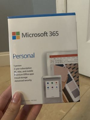 Microsoft 365 TWO year access for Sale in Lutz, FL