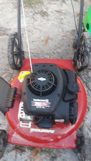Yard machine lawnmower push like new serviced at shop for Sale in Orlando, FL