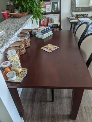 Pier 1 mango wood dining table for Sale in San Francisco, CA