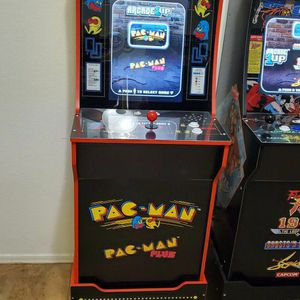 Arcade 1up PAC-MAN Cabinet With Riser for Sale in Surprise, AZ