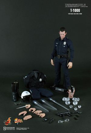 Hot Toys MMS129 T2 Terminator 2 Judgment Day T-1000 1/6 Figure for Sale in West Covina, CA
