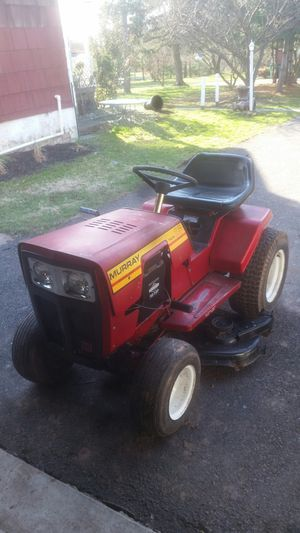 2 murray tractors, one has mower deck, 1 push mower for Sale in Telford, PA
