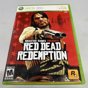Red Dead Redemption For Xbox 360 Complete CIB Video Game for Sale in Camp Hill, PA