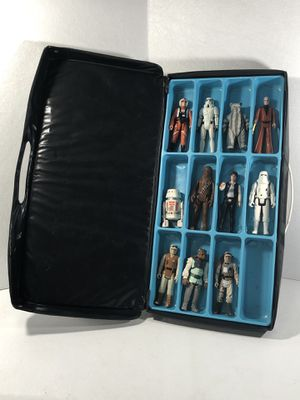 Star Wars figures with case 80 Bucks for Sale in Brentwood, CA