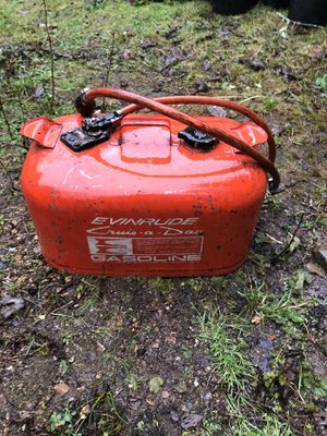 Evinrude Boat Gas Tank for Sale in Stanwood, WA
