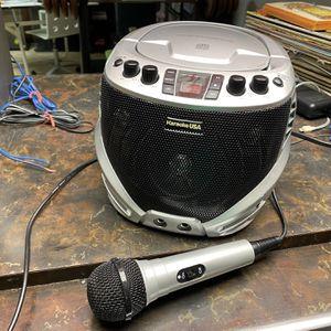 Karaoke USA Portable Karaoke Machine. Works Great! for Sale in Canton, MI
