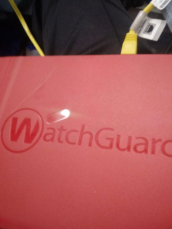 Watchguard computer security system