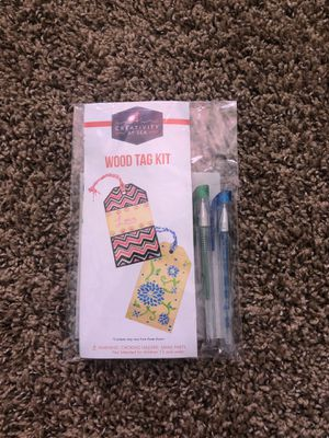 Creativity at Sea, Wood Tag Kit for Sale in Nampa, ID
