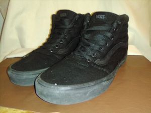 Vans Sz.10 Men's Hightop Black for Sale in Tempe, AZ
