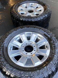 2019 F350 Platinum Wheels And Tires for Sale in Battle Ground,  WA