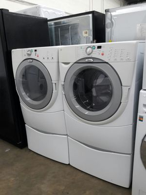 Whirlpool duet washer and dryer set for Sale in Temple Hills, MD