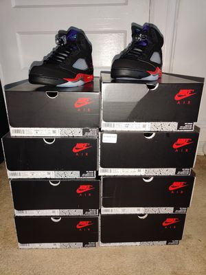 Jordan 5 Retro Top 3s Men's Sizes for Sale in Mount Vernon, NY