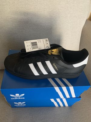 Addidas Super Star Shoes 10 1/2 and 9 1/2 for Sale in San Tan Valley, AZ